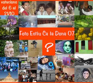 2a edició del Foto Estiu Ca la Dona - 2007