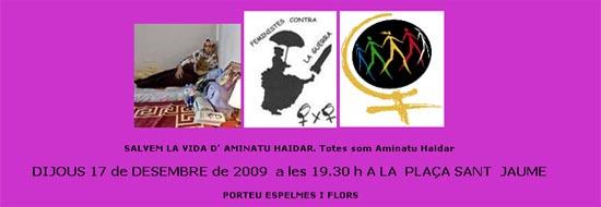 concentració Pl. Sant Jaume, Barcelona, 19:30h - 16/12/09