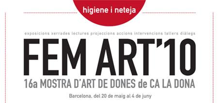 La 16 ena edició del FEM ART ja és aquí! - del 20 de maig al 4 de juny