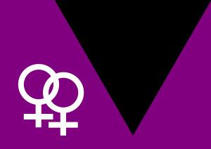 26 abril dia per la visibilitat lèsbica. Link activitats en motiu del 26A - bandera lesbiana, disseny de Mercedes Díaz Rodríguez