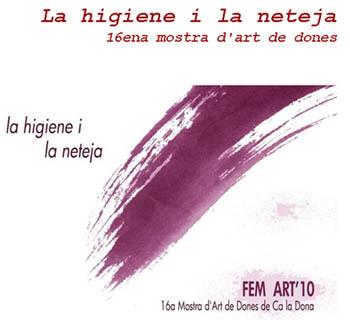 Fem art Convocatòria 2010: presentació obres fins 29 de gener