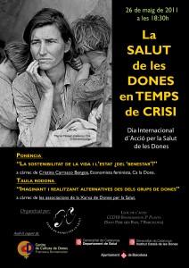 26/05 La salut de les dones en temps de crisi - Xarxa de dones per la salut