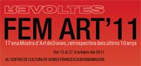 19/10, 19h – FEMART & Taller d'Arteràpia, al CCDFB, bcn