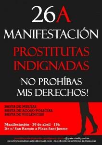 dia 26abril Mani prostitutes indignades