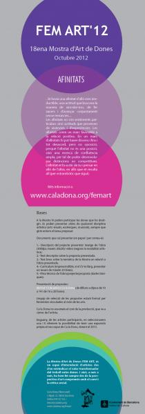 18 mostra d'art de dones femart