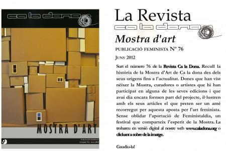 Publicada una nova CalaDona, la núm. 76