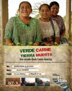 25/07 Documental Verde Carne Tierra Muerta