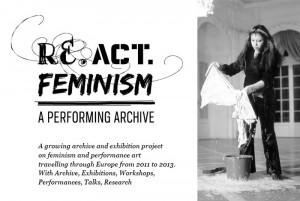 Propera sortida lleure feminista: Re.act.Feminism #2 - A Performing Archive, a la Fundació Tàpies