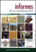 portada vol 64 Informes de la construcción Enllaç a la versió en línea