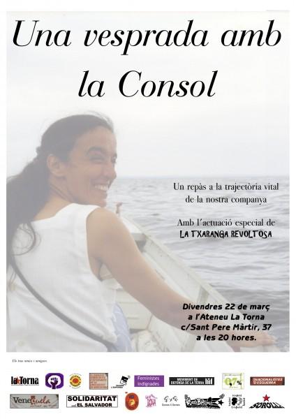 22/03 20h :: una vesprada amb la Consol, a La Torna de Gràcia