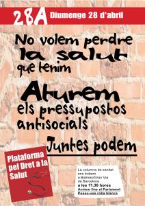 mani bcn 28abril 11:30 xarxa dones per la salut balmes/granvia