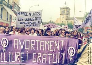 foto mani, autora Pilar Aymerich, cedida a la Xarxa Feminista de Catalunya