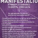 Mani 8F Vallès feminista
