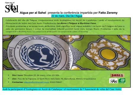El barri en lila | 22m | La dona i l'aigua a Burkina Faso amb Fatto Zeremy i Aigua per al Sahel