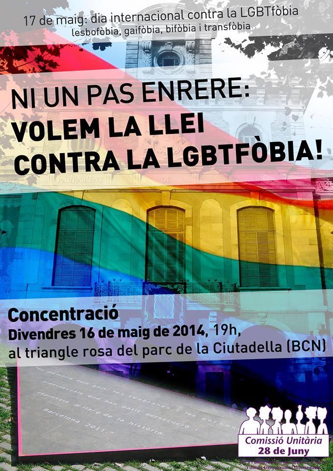 17 05 :: Dia Internacional contra la Transfòbia i l'homofòbia