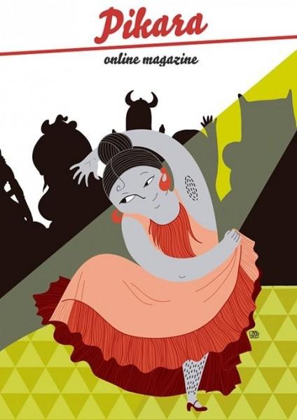 Ilustración de portada del nº2, por Emma Gascó