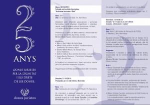 """17/10:: Jornada """"A 10 anys de la LO 1/2004: avanços, retrocessos i reptes"""", a l'ICAB"""