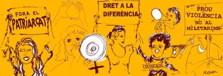 6/11:: Trobada de Feministes per la Independència, a Ca la Dona 19h