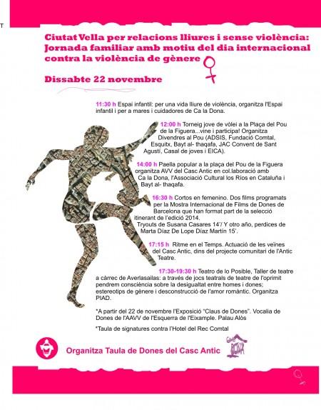 22/11:: Espai infantil per una vida lliure de violència