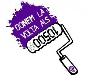 Ca la Dona dóna suport a les #10500voltes de les Feministes de la Vila de Gràcia