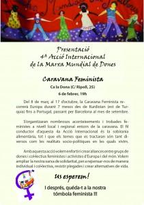 06/02:: Presentació 4a Acció Internacional de la Marxa Mundial de Dones
