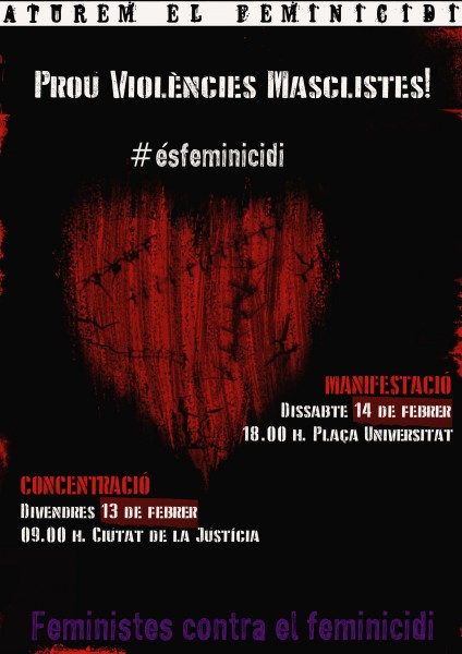 14/02:: Manifestació contra els Feminicidis