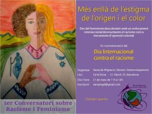 21/03:: 1er Conversatori sobre Racisme i Feminisme