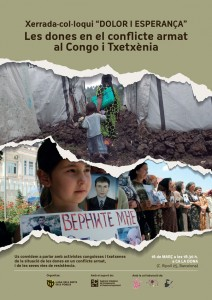 16/03:: Les dones en el conflicte armat al Congo i Txetxènia
