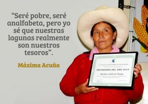 22/04:: Dia de la Mare Terra: La lluita de Màxima Acuña de Chaupe