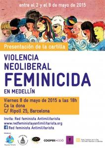 08/05:: Presentació de la investigació sobre feminicidis a Medellín