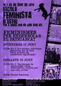 19 i 20/06:: Escola Feminista d'Estiu