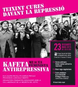 23/05:: Kafeta Feminista Antirepressiva a la Negreta del Gòtic