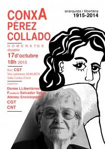 17/10:: Donatge a Conxa Pérez Collado