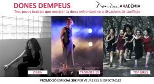 22/11:: Lleure Feminista- Anada al teatre