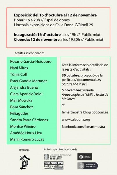 Exposició FEMART 2015 fins el 12 de novembre!
