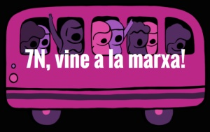 7/11:: 7N, Vine a la Marxa contra les violències masclistes