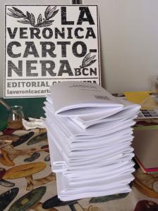 Vermut de Nadal de la Veronica Cartonera i presentació de