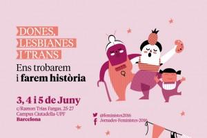 cartell jornades 2016 dones lesbianes i trans