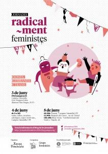 [Fins el 2/06: Inscriu-te a les Jornades Radical-ment Feministes!!!