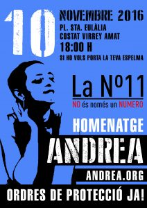 Homenatge Andrea- la nº11