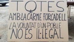 16/12:: Acompanyem Carme Forcadell a declarar davant el TSJC