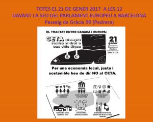 21/01:: Convocatòria per dir NO al CETA!