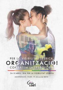 26/04:: Per la visibilitat lèsbica: Organització. Combatem la LGBTI-fòbia