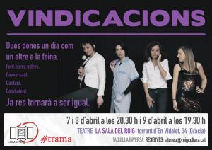07-09/04:: Obra de Teatre a l'Ateneu: VINDICACIONS