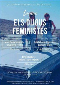 Tornen les Kafetes Feministes dels Dijous!!