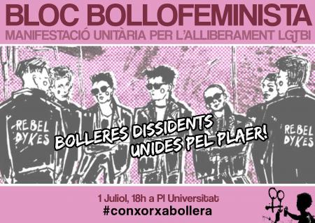 01/07:: Bloc BolloFeminista a l'Orgull Crític 2017