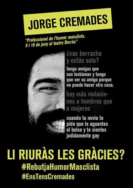 #RebutjaHumorMasclista #EnsTensCremades