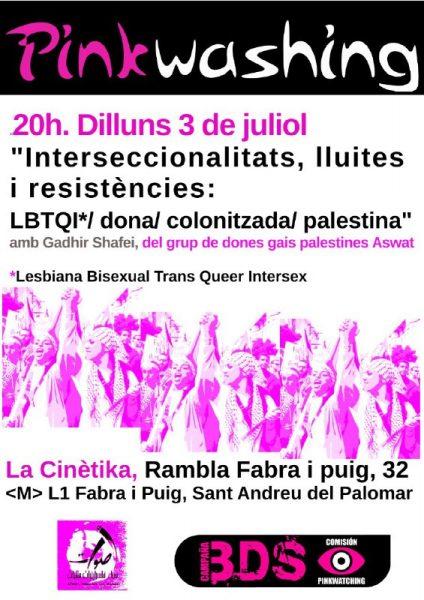 3/07:: Interseccionalitats, lluites i resistències, amb Gadhir Shafei, del grup de dones gais palestines Aswat