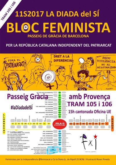 11/09:: [MANIFESTACIÓ] Bloc Feminista a la Diada
