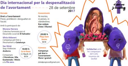 28/09:: Convocatòries pel Dia Internacional per la Despenalització de l'Avortament